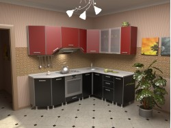 """Набор кухонной мебели """"Азалия"""" 2.35 х 1.75"""